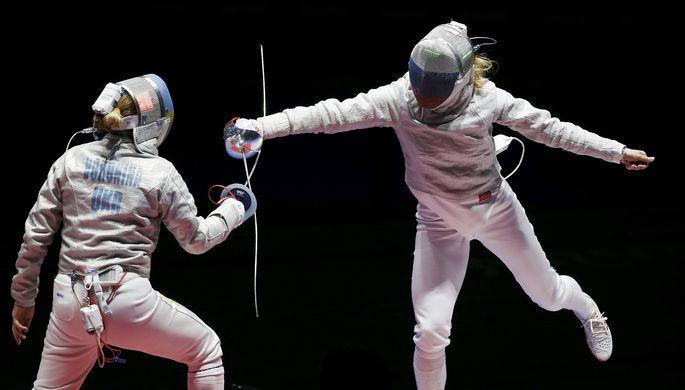 Росссия выиграла золото Олимпиады-2016 по командной сабле у Украины