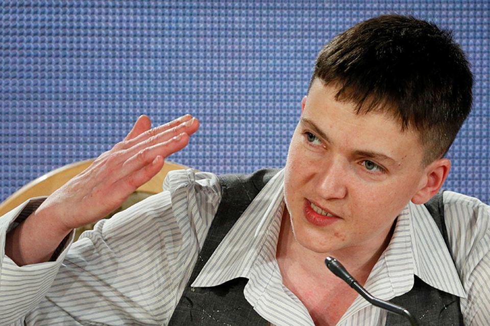 Савченко насмешила «коленопреклонённых» россиян своим призывом