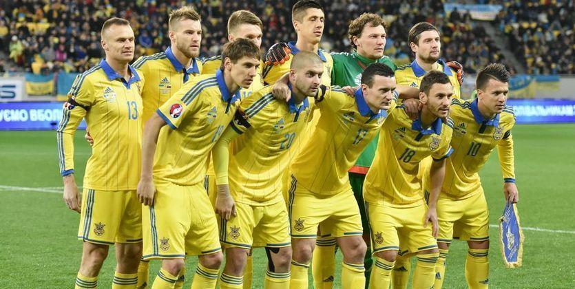 Сборная Украины по футболу 2016