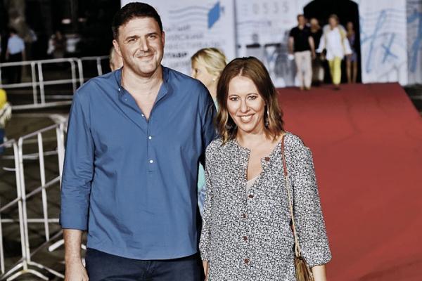 Беременная Ксения Собчак сняла на видео медленный танец с супругом