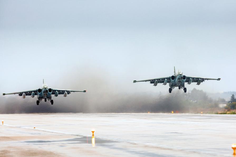 Су-25 на авиабазе Хмеймим