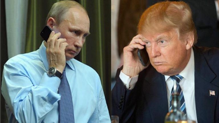 Трамп поздравил Путина