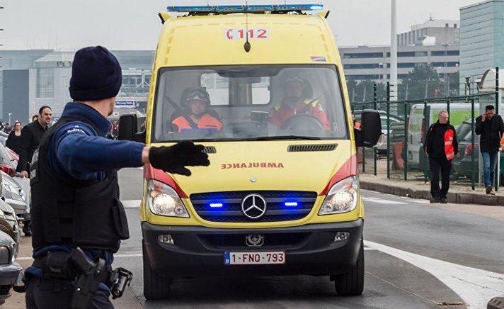 На юго-западе Бельгии прогремел мощный взрыв, есть раненные