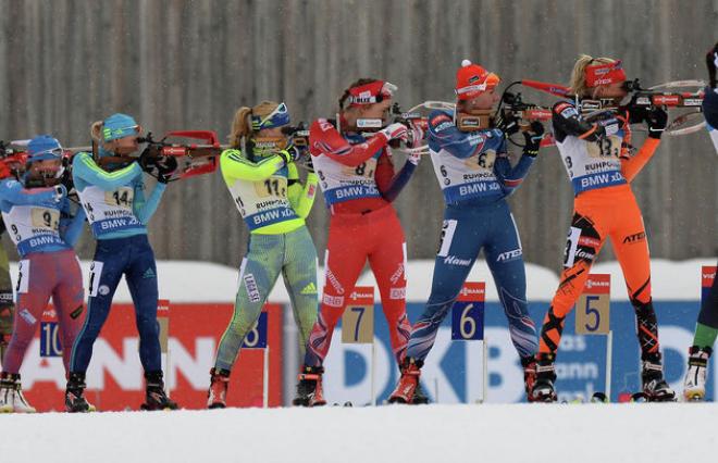 Российские биатлонистки массово перешли в украинскую сборную