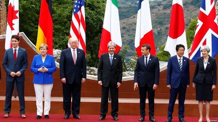 G7 призвала Россию отказаться от Сирии