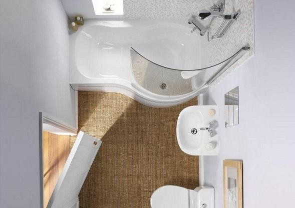 10 ярких трюков, чтобы сделать маленькую ванную комнату огромной. Невероятная трансформация