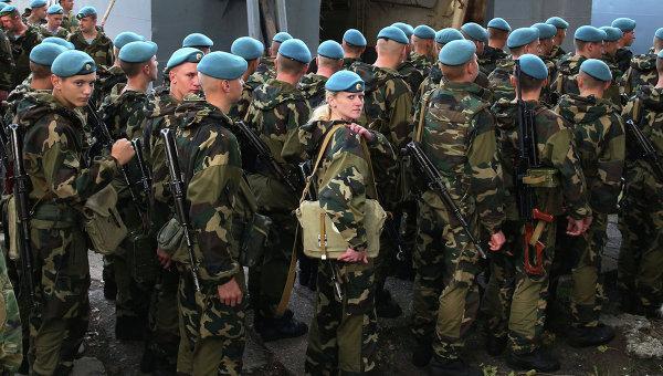 В Крым и на Кубань по срочной тревоге переборошены войска ВДВ