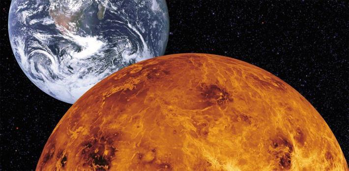 Ученые заметили в атмосфере Венеры гигантскую волну таинственного происхождения