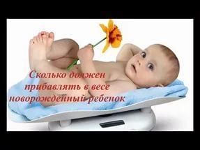 Физическое развитие ребенка до года: таблица прибавки веса и роста ребенка до года по месяцам