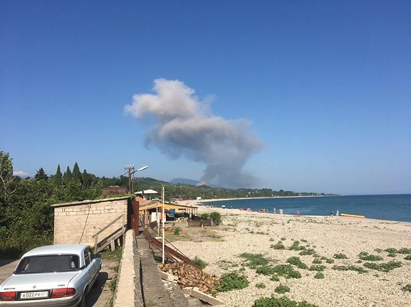 Взрыв  в Абхазии 02 08 2017 – видео, фото, последние новости, подробности