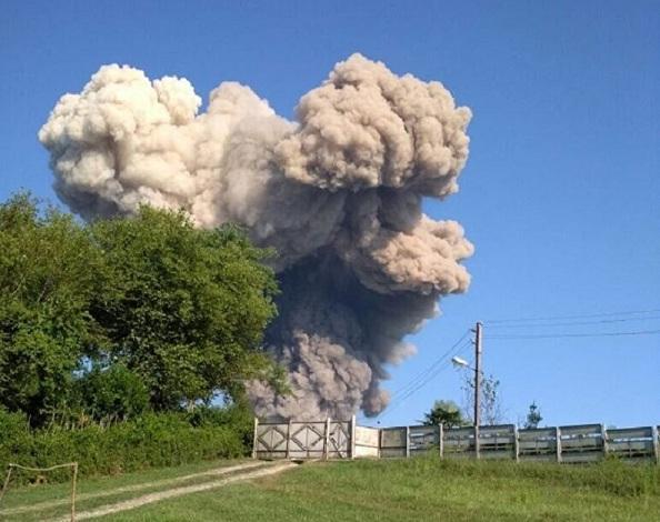 Взрыв в Абхазии глазами очевидцев: «Нас повалило на землю, это страшно»