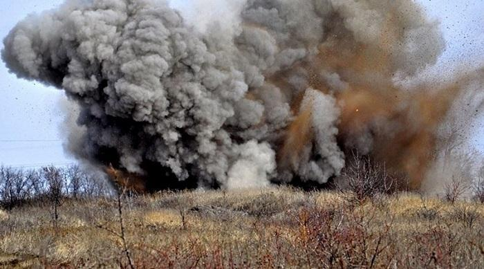 В Сети обсуждают видео мощного взрыва на учениях