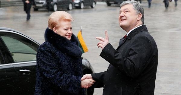 Литва доказала преданность Порошенко