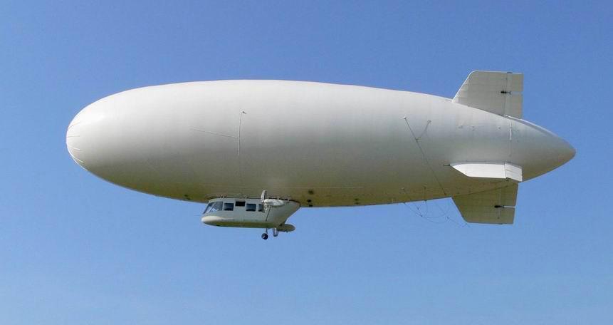 В Великобритании во время испытательного полета упало крупнейшее судно в мире