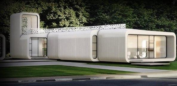 В Нидерландах появится район с домами, напечатанными на 3D-принтере