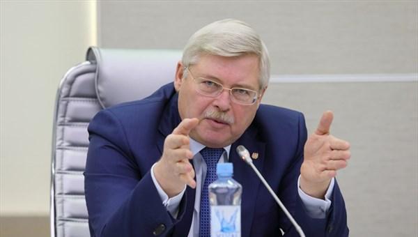 Томский губернатор похвастался болотом перед послами из Евросоюза