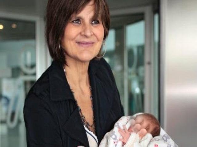 Испанка родила ребенка в 62 года