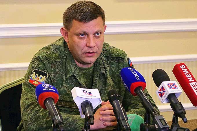 Захарченко заявил о введении смертной казни в ДНР