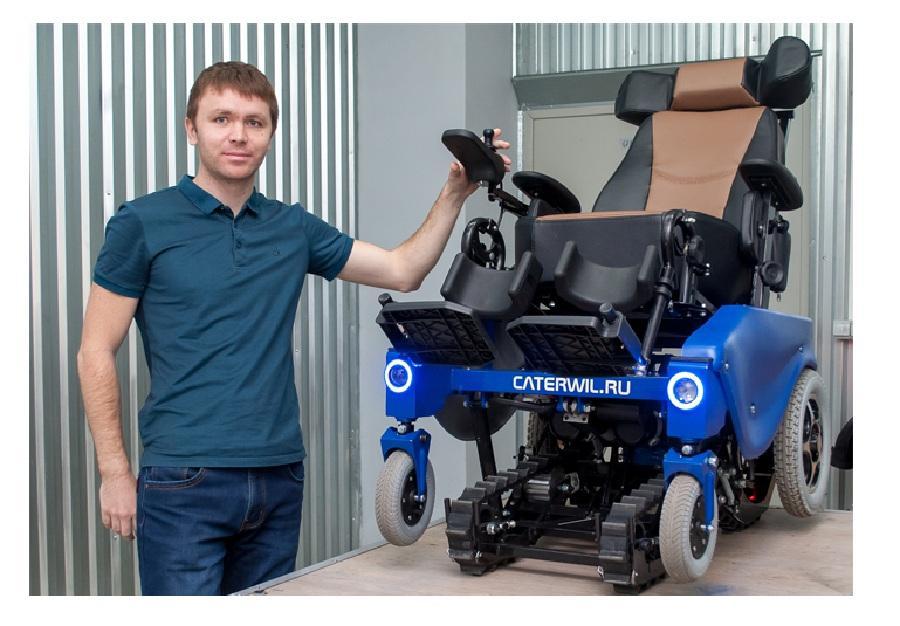Коляска-новинка для инвалидов от Ивана Невзорова