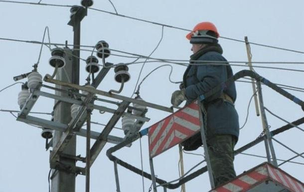 Крым частично отключен отэлектричества из-за неожиданного ограничения мощности