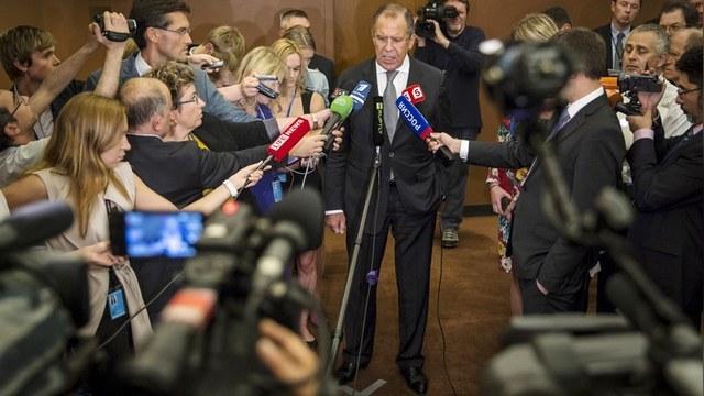Ответ Министра иностранных дел России С.В.Лаврова на вопрос информагентства ТАСС