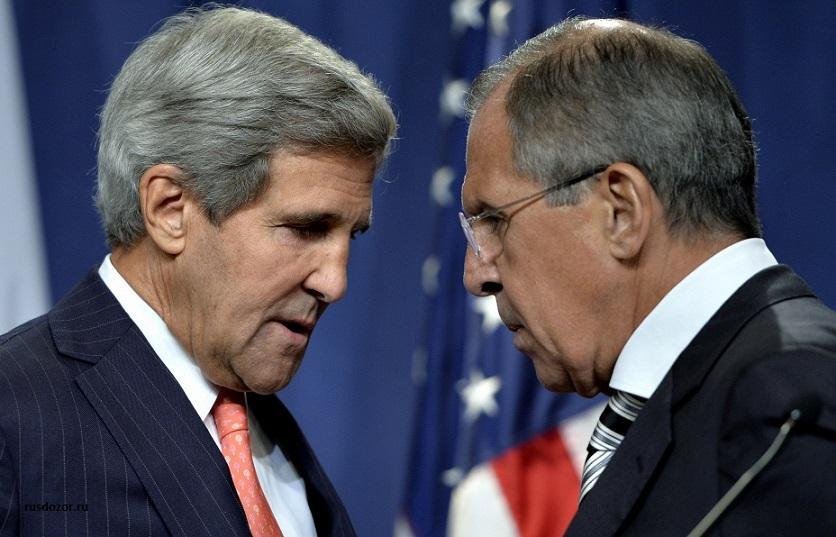 Керри устроил жесткую словесную атаку на Лаврова в ходе заседания в ООН
