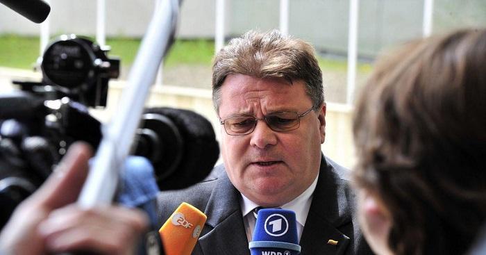 Глава МИД Литвы осудил действия РФ против украинских судов