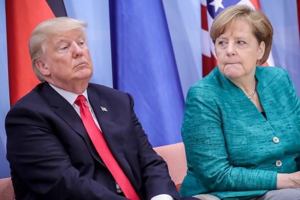 Меркель заявила, что Европа вынуждена согласиться на условия США по Ирану