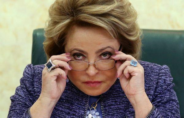 Матвиенко раскритиковала Топилина за формальный подход к работе