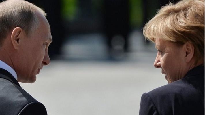Меркель рассказала о «сделке» по снятию санкций с России