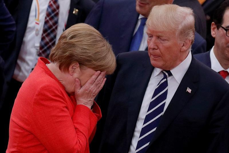 Германия оказалась под жёстким давлением ЕС и США из-за России после щедрого предложения Киева