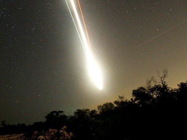 В Томской области метеорит пролетел рядом с тремя самолетами