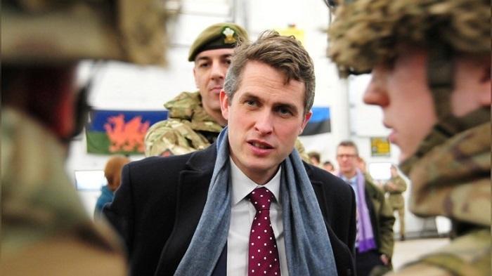 Посольство РФ отреагировало на воинственную риторику министра обороны Британии