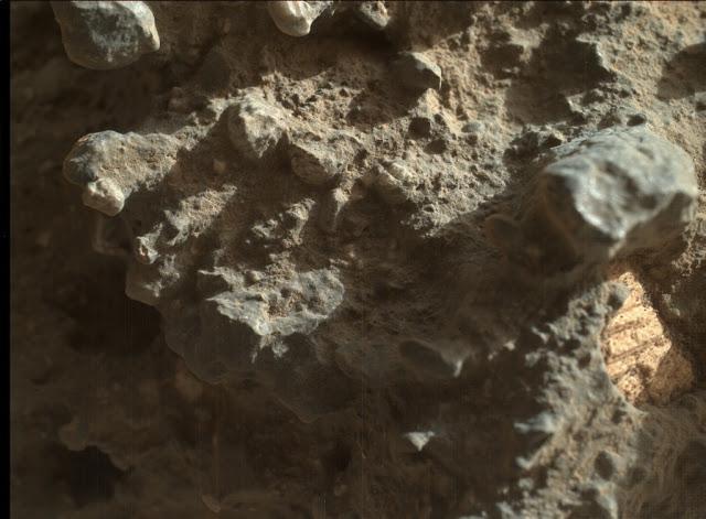 Curiosity обнаружил на Марсе древние морские раковины