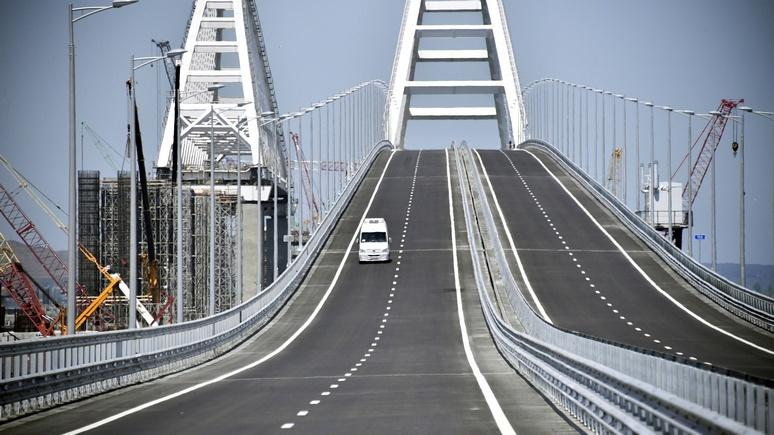 Москва ответила Киеву, заявившему о неминуемой расплате за Крымский мост