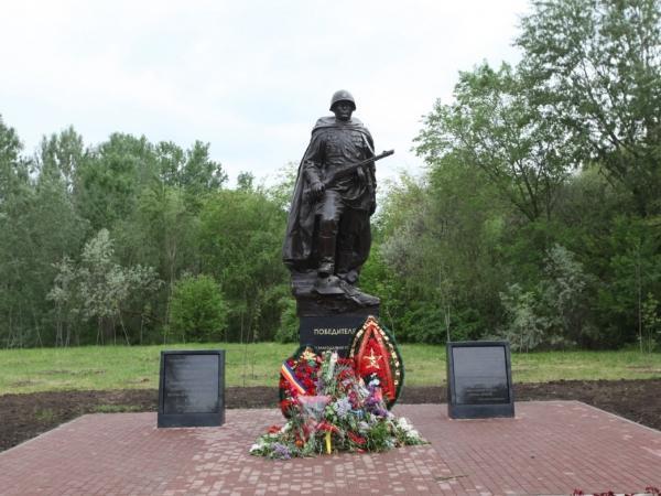 В Ростове появился новый памятник Советскому солдату