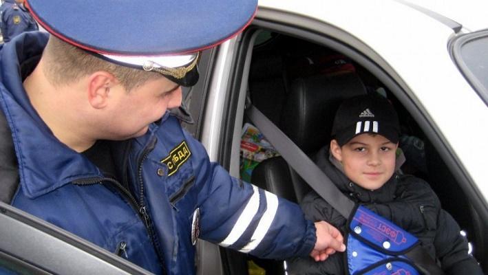 Правила перевозки детей - новости