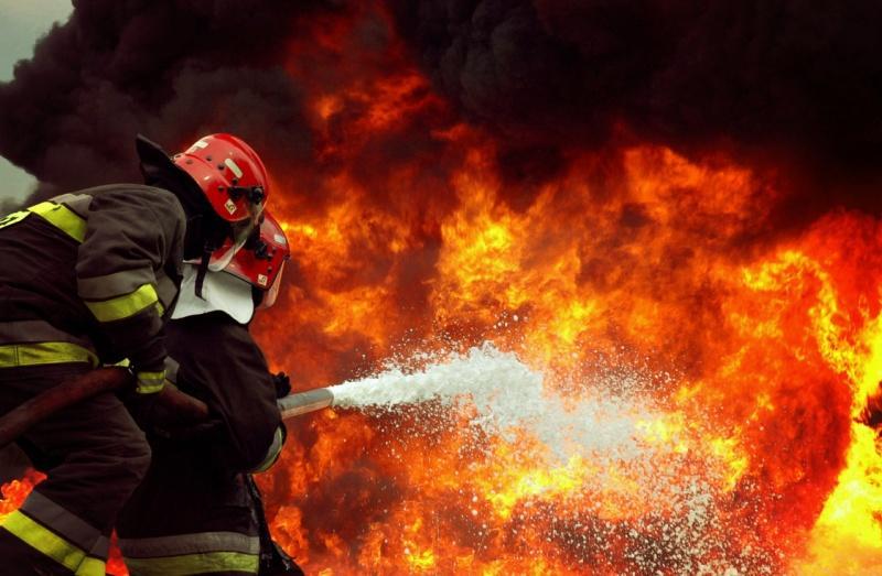 В Оренбургской области жуткий пожар: погибли пять человек