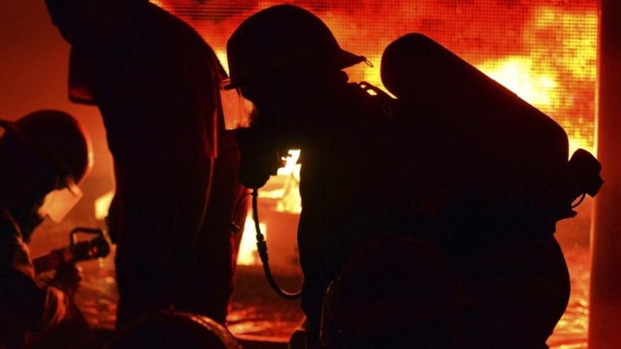 Пожар в Ростове: ночью горел судоремонтный завод