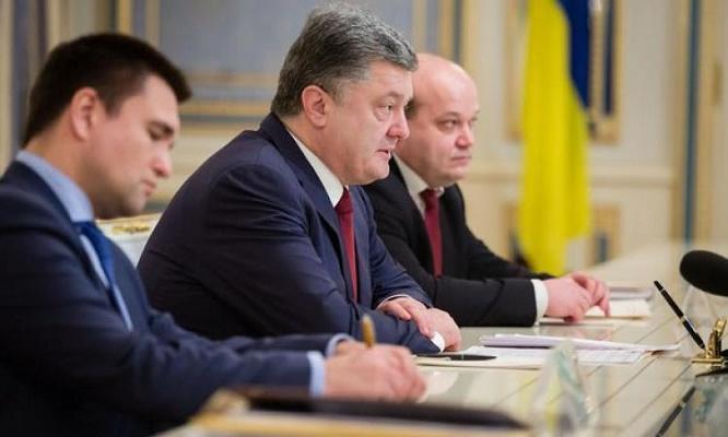 Киев потребовал от Путина отменить указ по ДНР и ЛНР