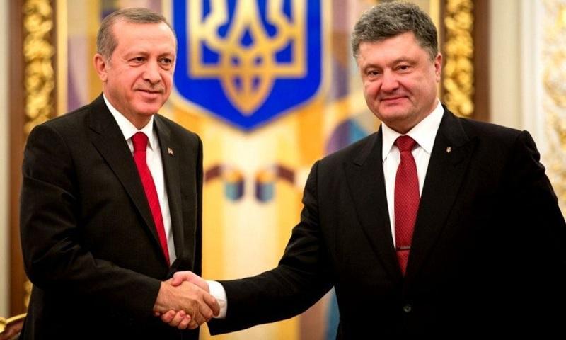 Эрдоган иПорошенко обменялись заверениями вдружбе