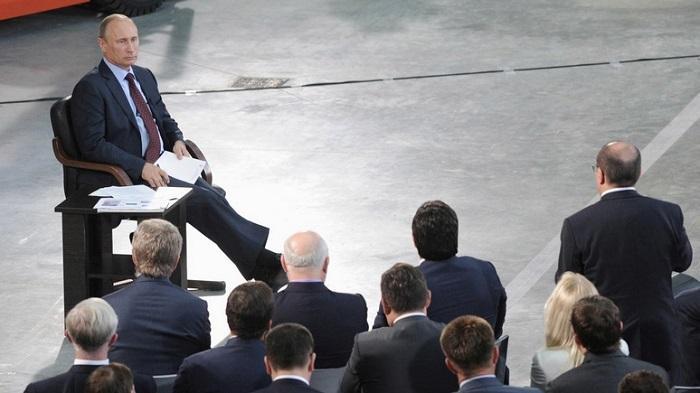 Большая пресс-конференция Путина 14 декабря 2017