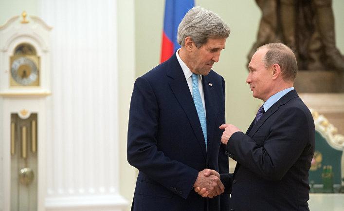 Слово Кремля будет решающим на переговорах с Керри - западные СМИ