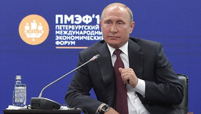 Путин предупредил Запад не переступать с Россией красной черты
