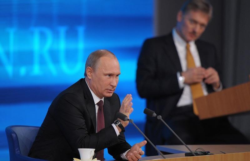Песков поведал оподготовке Владимира Путина кпрямой линии