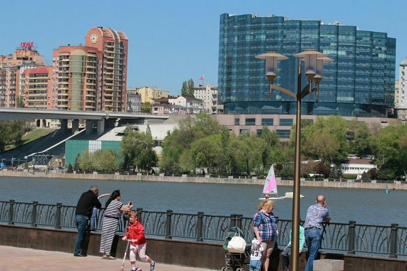 В Ростове торжественно открыли набережную на Левом берегу Дона