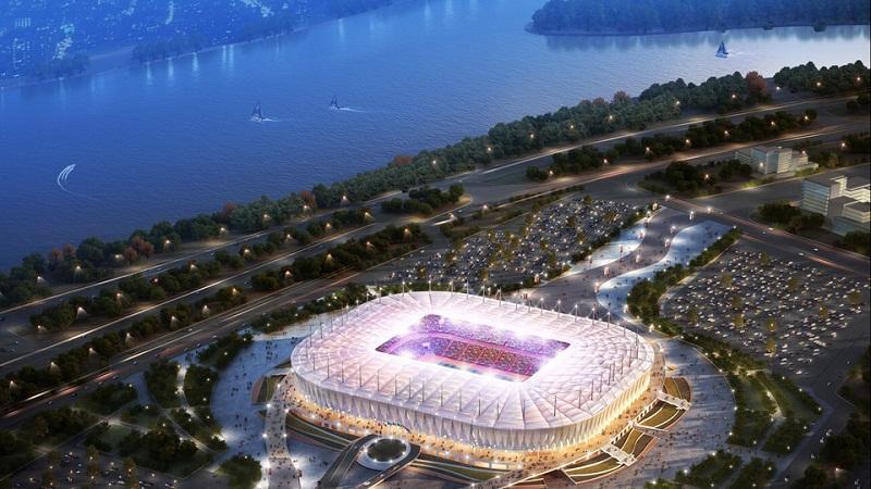 В Ростове оценили строительство дорог возле стадиона «Ростов-Арена»