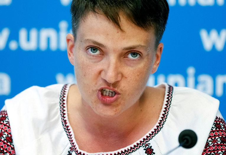 Савченко оценила деятельность Порошенко в ходе своего визита в США