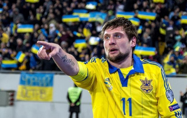 Украинский футболист поддержал Смолова после матча с Хорватией