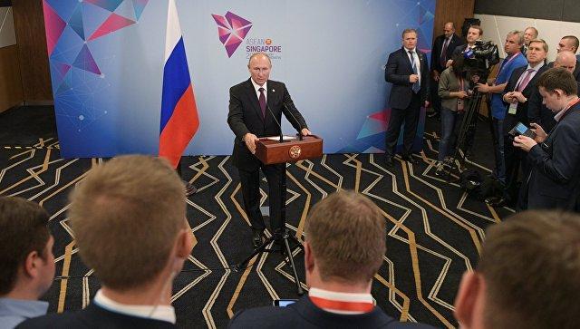В Киеве заявили о вмешательстве Путина в выборы из-за одной его фразы